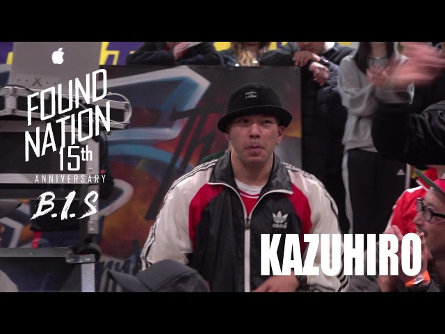 KAZUHIRO | JUDGE | FOUNDNATION 15TH ANNIVERSARY x BIS JAPAN | LB-PIX