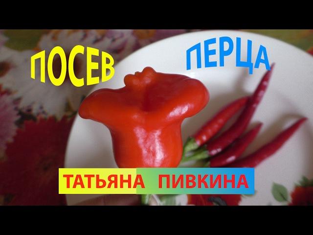 Перцы ПОСЕВ 2017 год с Татьяной Пивкиной. ФЕВРАЛЬ