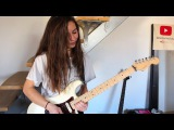 Pink Floyd - Another brick in the wall solo (Cover by Chlo