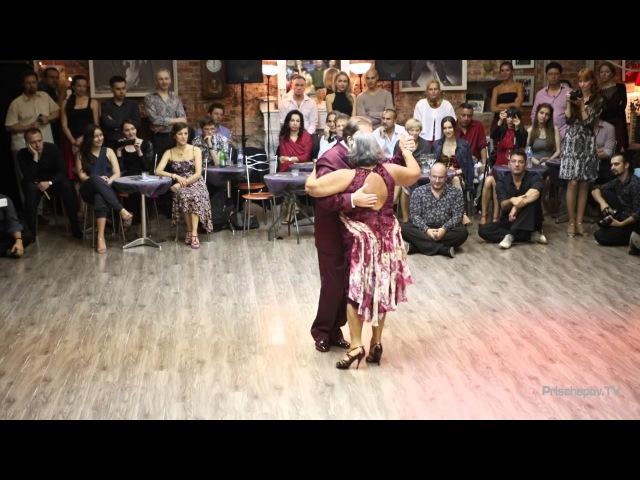 Jorge Daniel Dispari and Maria Carmen la Turca, 2-4, «Milonguero Nights 2015»