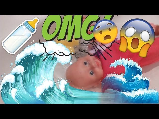 Беби Бон тонет 💦 Куклы пупсики Мама спасает Машу 💥 Как мама Играем в куклы