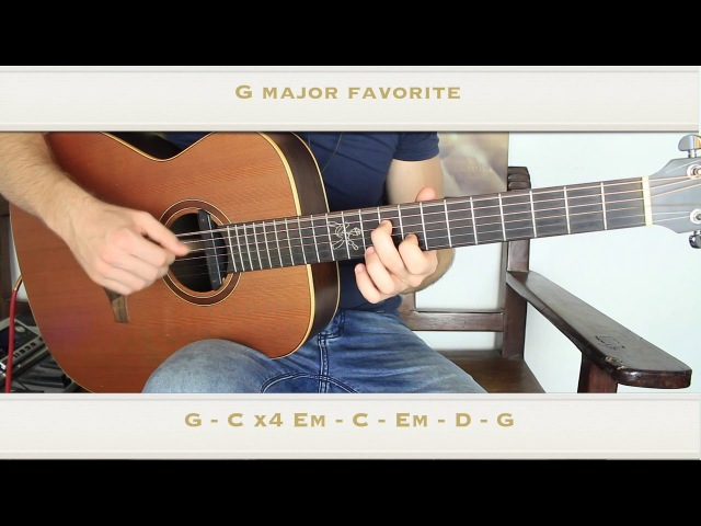 The 7 Chord Progressions I Have Been Playing for 20 Years (Major Key)