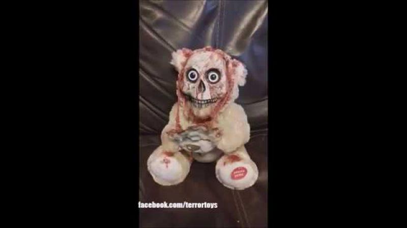 Terror Toys Animatronic Peek a boo singing bear