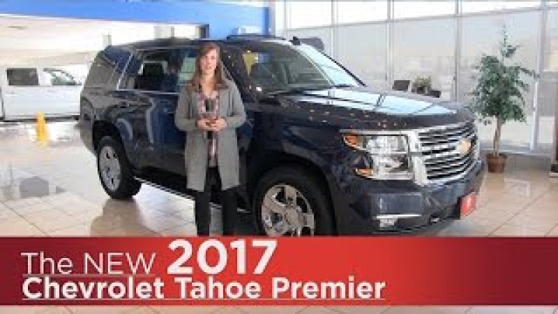 New 2017 Chevrolet Tahoe Premier - Minneapolis, St Cloud, Monticello, Buffalo, Rogers, MN