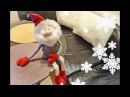 Текстильная кукла Новогодний гном Christmas Gnome DIY Tutorial