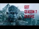 Game of Thrones Season 7 Major Deaths