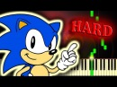 GREEN HILL ZONE from SONIC THE HEDGEHOG - Piano Tutorial