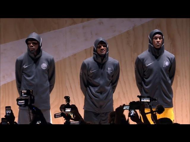 NBA And Nike Unveil The 2017 18 NBA JerseysUniforms Full Event 2017 18 NBA Season