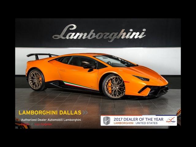 2018 Lamborghini Huracan Performante Arancio Borealis LC486