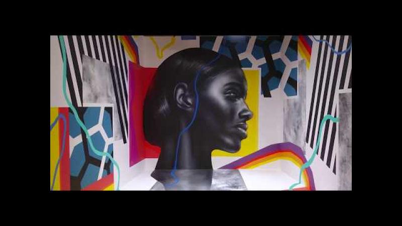 WERT159 Расписывает Куб ZIS Is Art Graffiti Timelapse