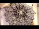 Шапка берет крючком на зиму (Crochet. Winter hat)