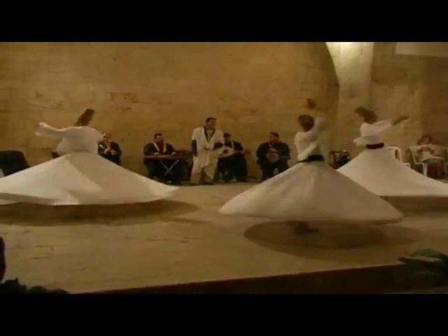 Syrie cérémonie des Derviches Tourneurs dAlep