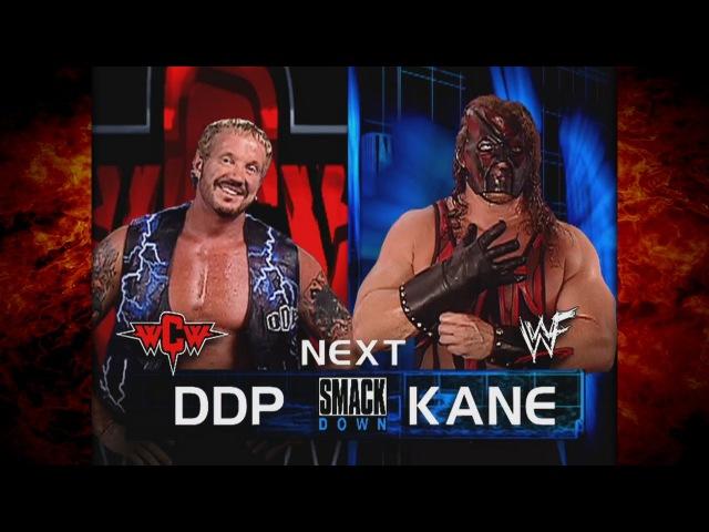Kane vs DDP (Kane Chokeslams Referee Nick Patrick) 7/26/01