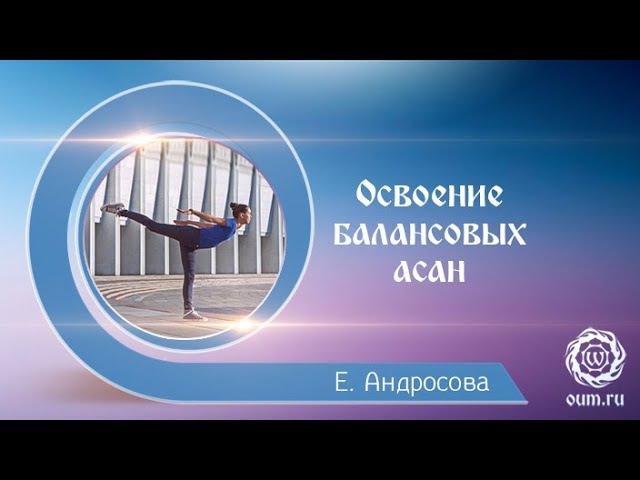 Йога для начинающих. Освоение балансовых асан стоя. Екатерина Андросова