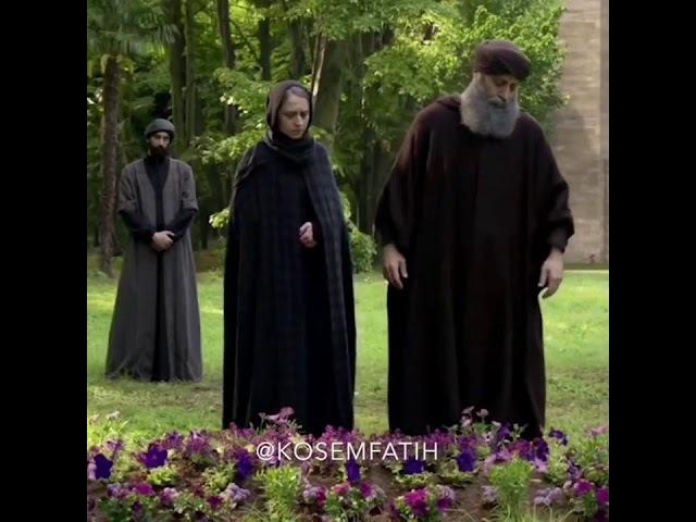 Сулейман у могилы Хюррем
