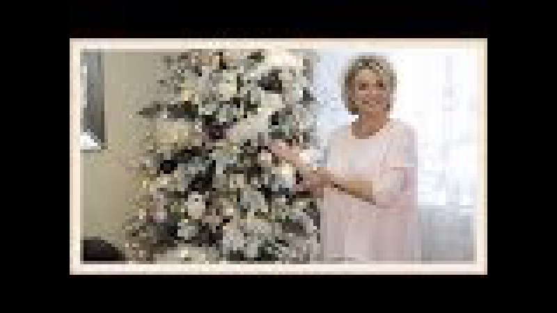 🎄🌲Decorate With Me - Christmas Tree 2017 (Blush Pink) How To Flock Your Christmas Tree🎄🎄