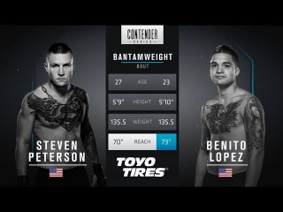 FREE FIGHT | Lopez Wins Incredibly Close Fight  | DWTNCS Week 7 Contract Winner