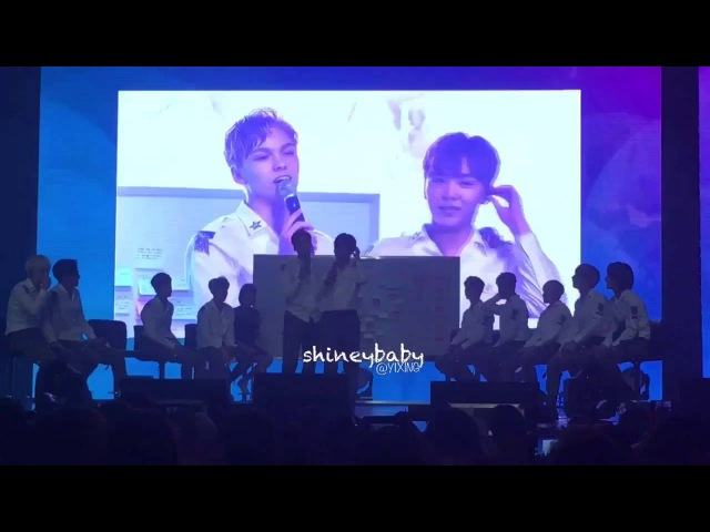 160815 Vernon's favorite part about Seungkwan 😳