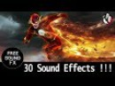 The Flash Sound Effects Pack   Running, Super Speed and Vibrating   Film Masters