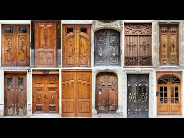 Wood entry doors home depot | Solid wood front door with sidelights