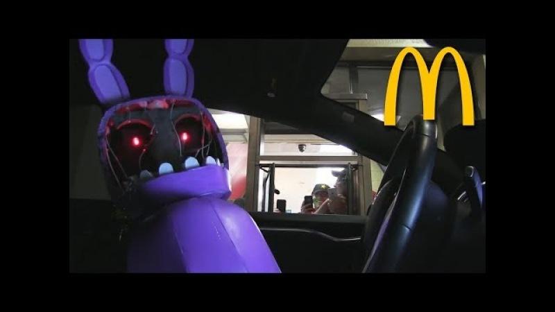 Five Nights at Freddy's в МакАвто 2 (Страшный Пранк)