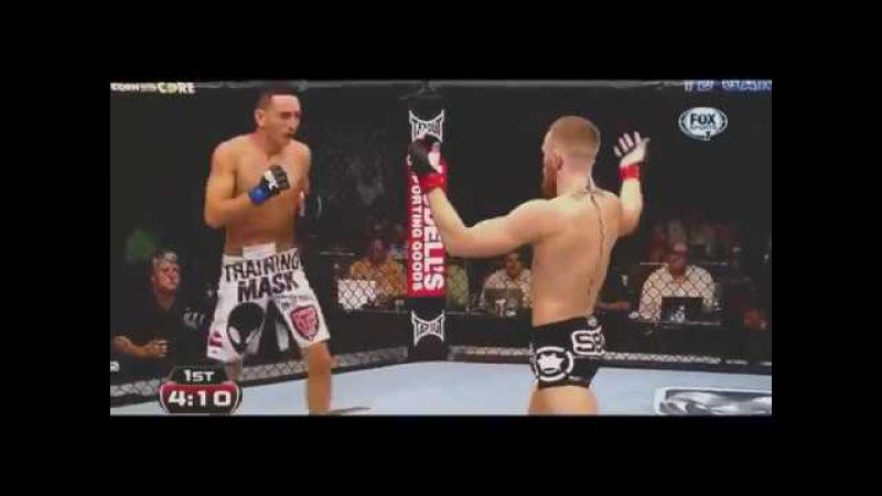 Конор МакГрегор против Макс Холлоуэй-Connor McGregor vs Max Hallway