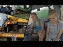 Wielkie Żniwa 2017 z Dziewczynami w GR Załoga ✪ Weronika Marlena w Akcji ✪ 3x New Holland ✪ Unia