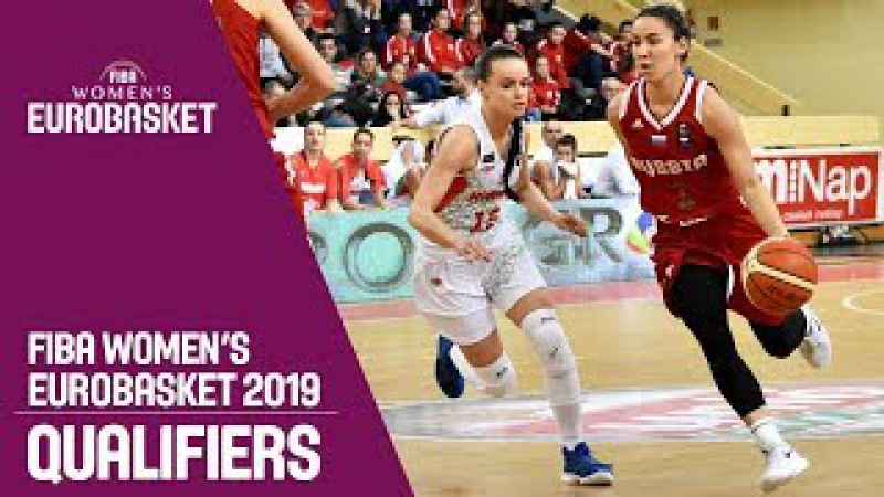 Hungary v Russia Full Game FIBA Women's EuroBasket 2019 Qualifiers