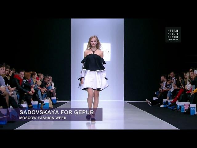 Неделя моды в Москве - Sadovskaya for Gepur: новый взгляд на вечерние платья