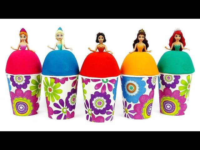 Сюрпризы из пластилина Плей До и много конфет Игрушки MLP, Губка Боб и другие сюр...