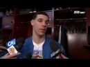 Lonzo Ball Postgame Interview | Mavericks vs Lakers | February 23, 2018 | 2017-18 NBA Season