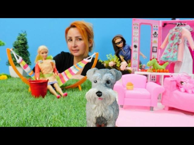 Barbie oyunları. Özgenin mağazasına hırsız giriyor