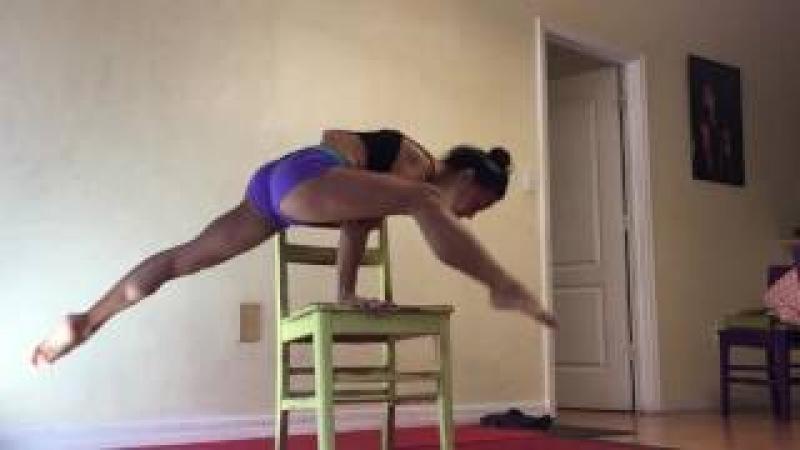 Rope Climb And Feet Behind Head . AMARA360 ARTFLOW