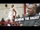 Shareef ONeal Sets It OFF In Regional Semi Finals With SHAQ Watching!