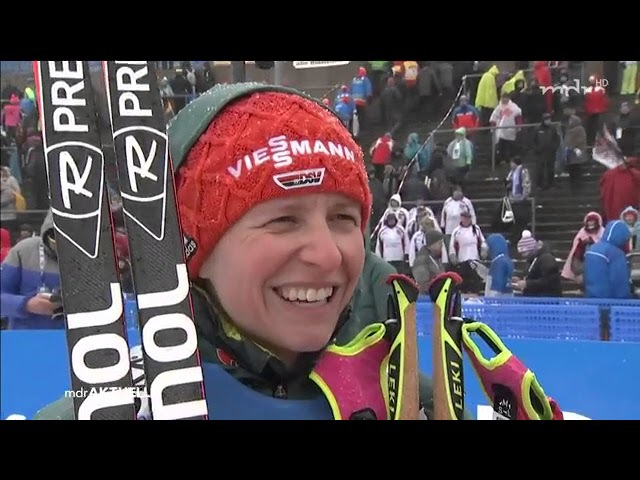 Oberhof-2018. Comments from Franziska Hildebrand and Arnd Peiffer after relays