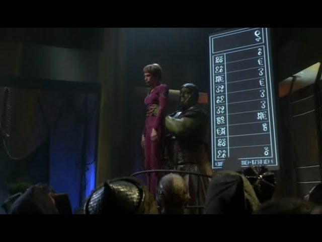 Star Trek Enterprise - T'pol Sold At Orion Slave Auction