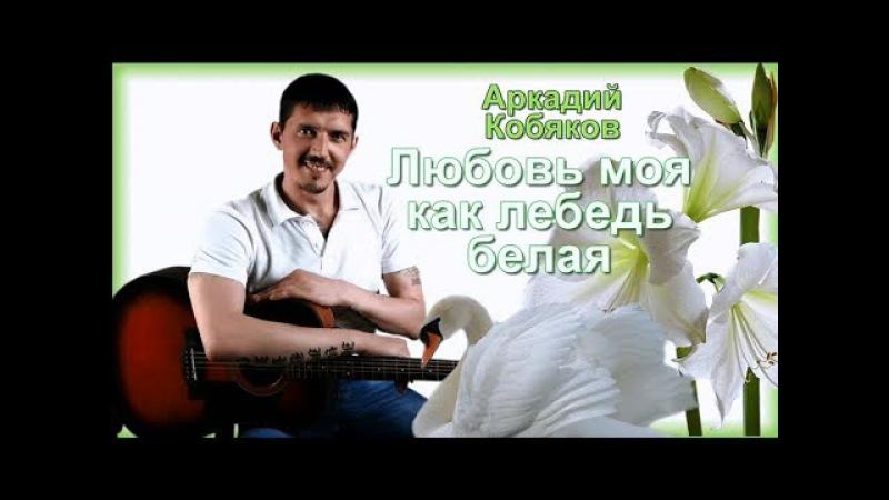 (Лучший из лучших! От его песен и голоса дрожь по коже) Аркадий Кобяков Любовь моя, как лебедь белая