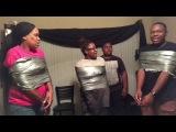 Duct Tape Challenge!! | ft My Mom & Jadice
