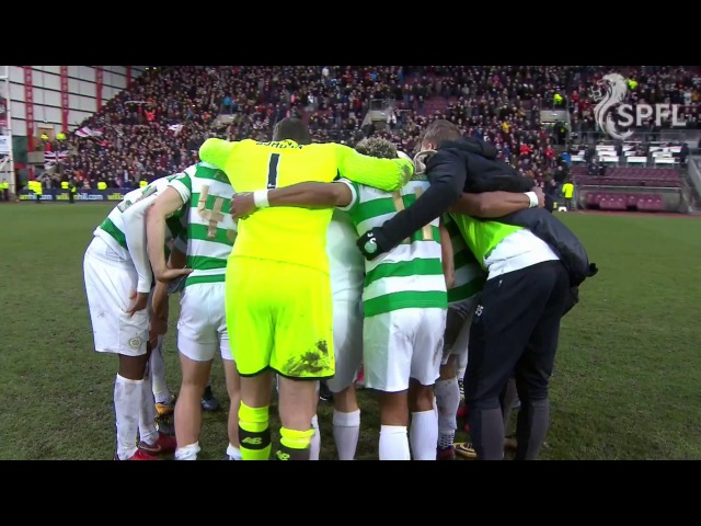 Post match scenes as Celtic's incredible run ends at Tynecastle