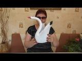 Лебедь из модулей. Оригами.. ww.youtube.comchannelUCAdcIgOaX5JmdQhNxlXxFlw