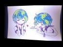 Real waifu — Earth-chan!   Post. Prod. Lil Ultimate Drama 💙💚 · coub, коуб