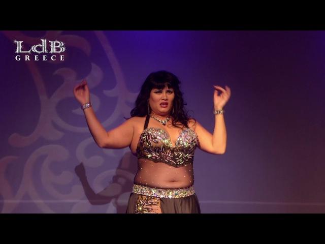 Claudia from U.S.A @ LdB Greece International Oriental Dance Festival