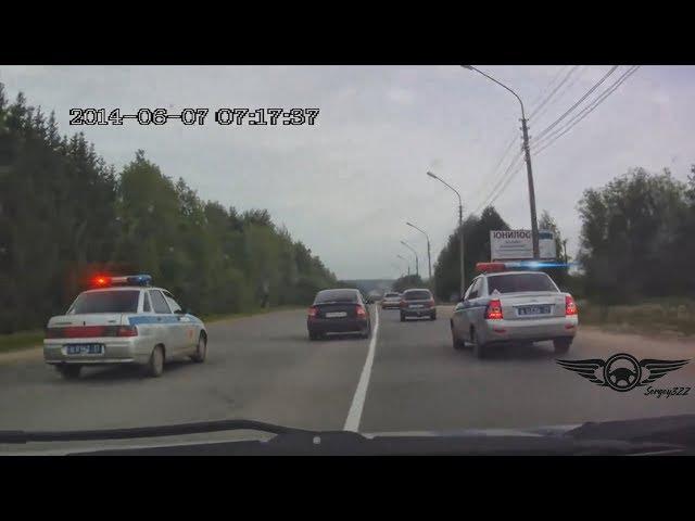 Безумные Погони ДПС за Гонщиками на Жигулях. Карма в Действии.