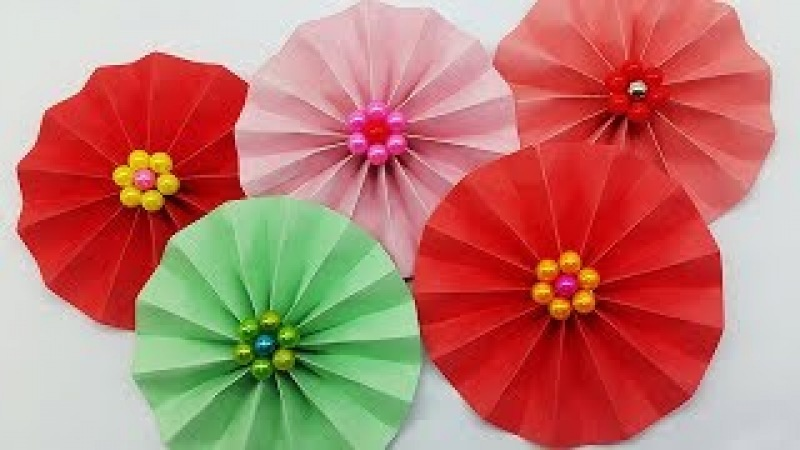 DIY Paper Flower Complete Tutorial | Making Paper Flowers step by step | Paper Crafts