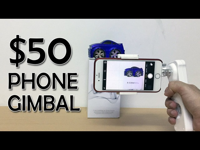 Cheap Gimbal for smartphones XCAM Creative Sight 2 complete review with sample videos Banggood