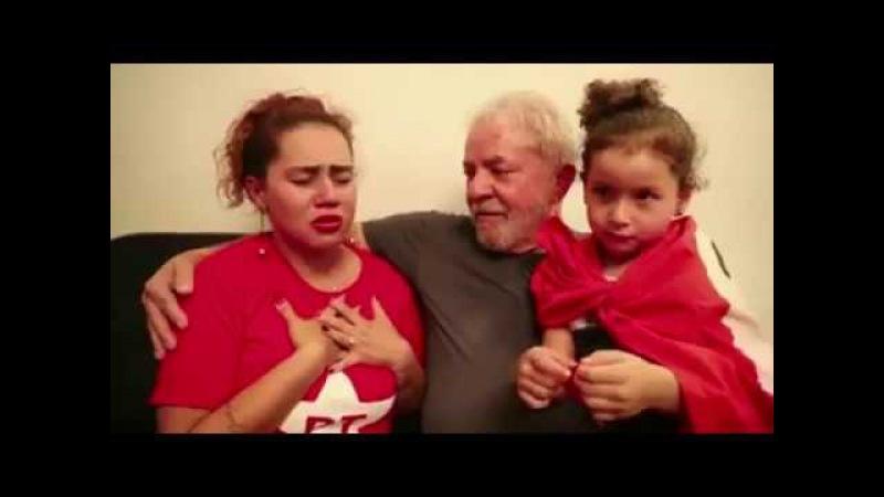 O primeiro encontro com o ex-presidente Lula de uma Jovem mãe e sua filha, Que tiro é esse?