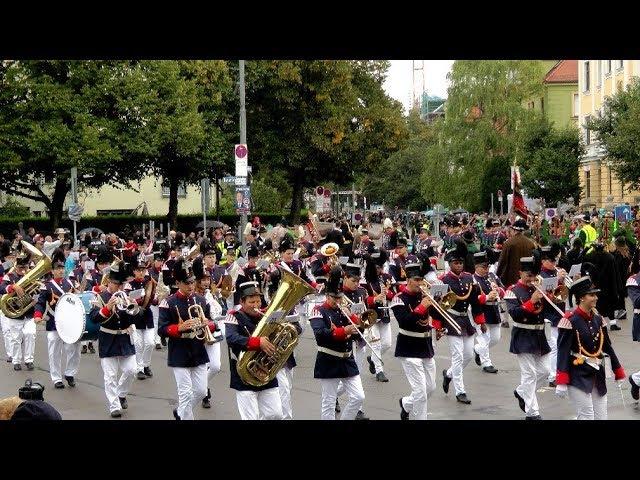 Trachtenumzug Schützenumzug 2017 Oktoberfest München