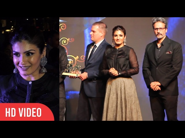 Raveena Tandon And Anil Thadani At Bollywood Film Journalist Awards 2018 | Power Brands Awards 2018