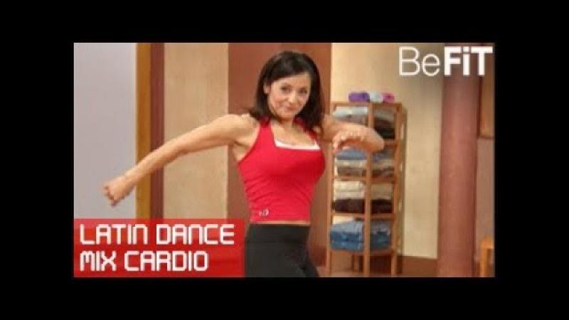 Кардио тренировка Смешанная латина 10 минутное решение Latin Dance Mix Cardio Workout 10 Min Solutions Stella Sandoval