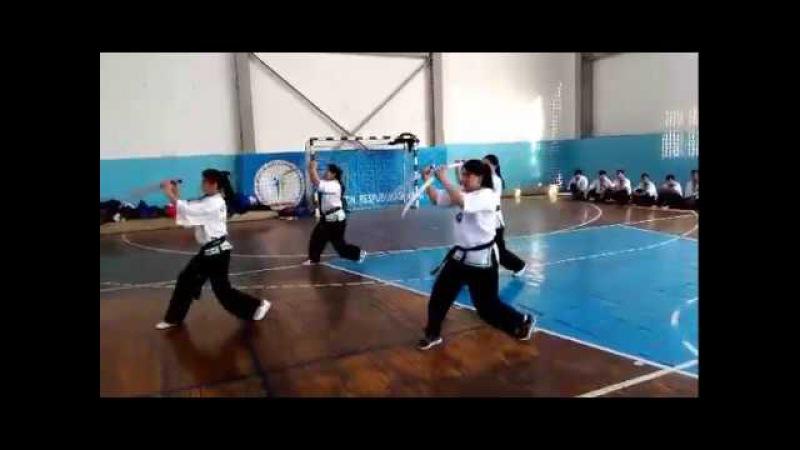 тренировка сборной узбекистана по Uzbek Jang San'ati-2